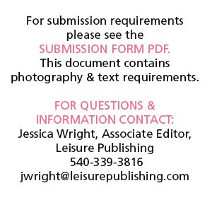 Send us your wedding for consideration today!