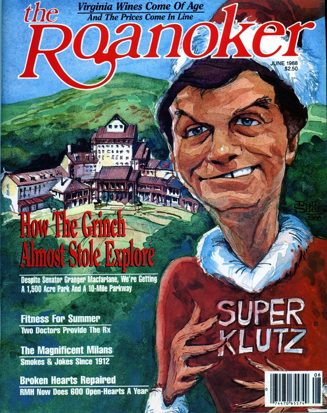 The Roanoker magazine, May 1988