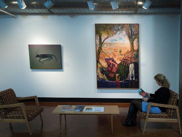 Hollins Lobby Artwork