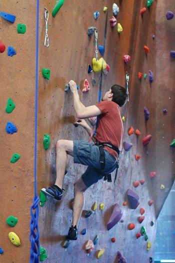 River Rock Climber