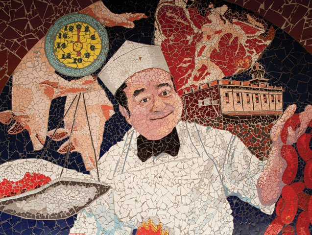 Market Art Chef Mosaic
