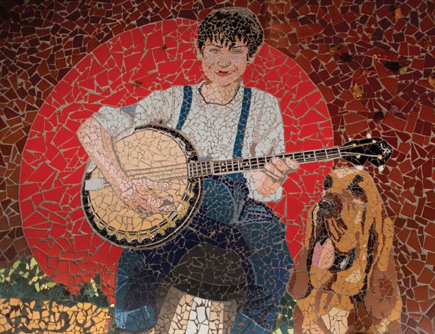 Market Art Music Mosaic