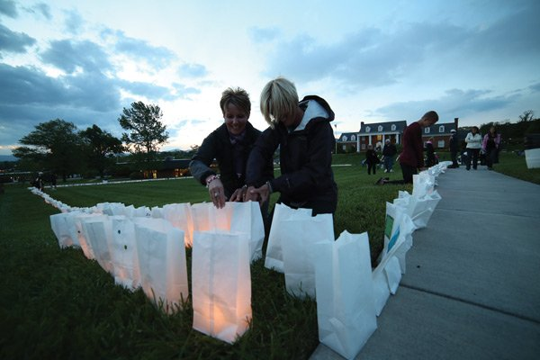 Luminaries at Relay for Life