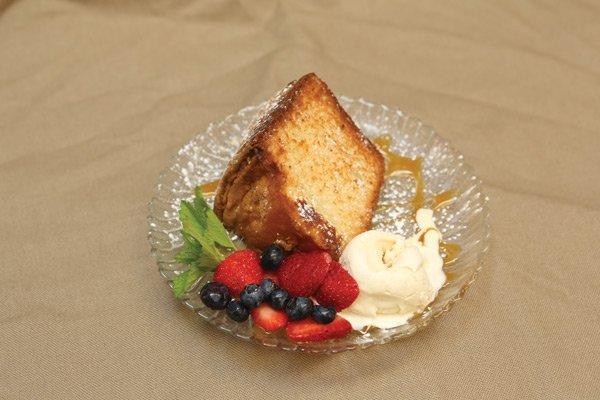 Dessert at Teaberry's