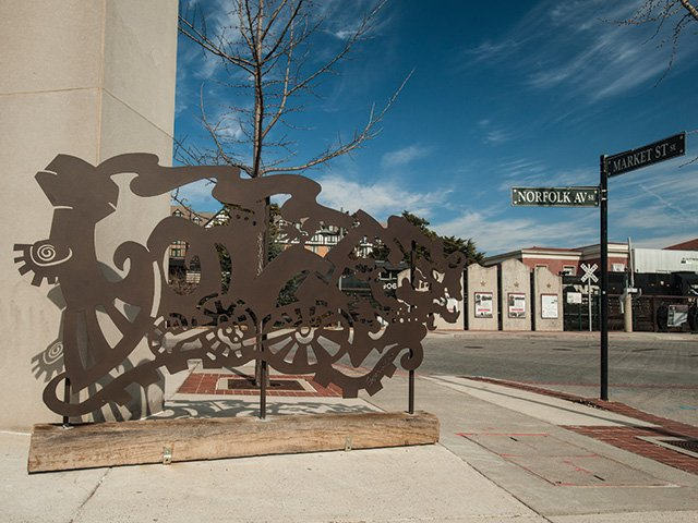 Roanoke's LOVEWorks Art Installation