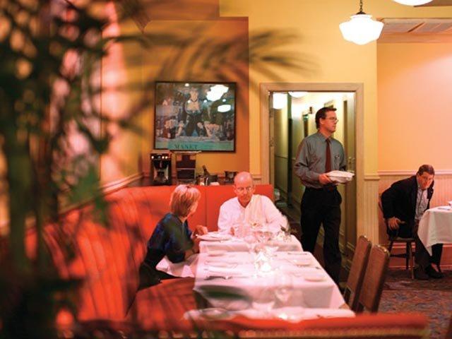 Dining at Alexander's