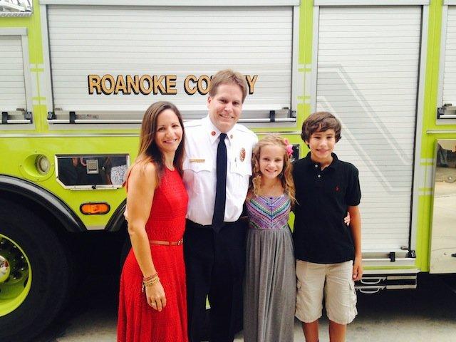 Chief Simon and family