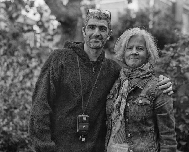 Beth Macy and Josh Meltzer