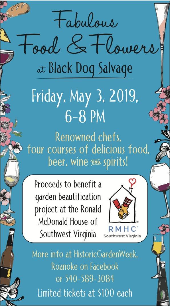 Fabulous Food & Flowers at Black Dog Salvage - TheRoanoker com