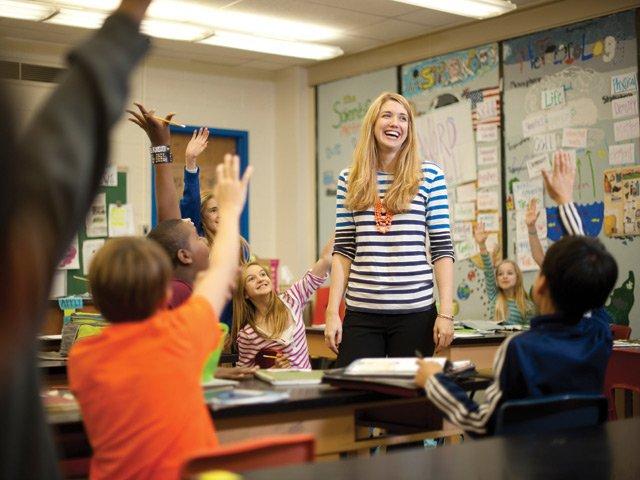 Samantha Von Hoene, Roanoke City middle school teacher