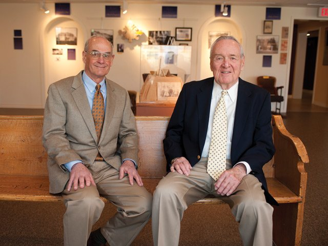 Dr. J Burks Logan and Frank Chapman Jr.