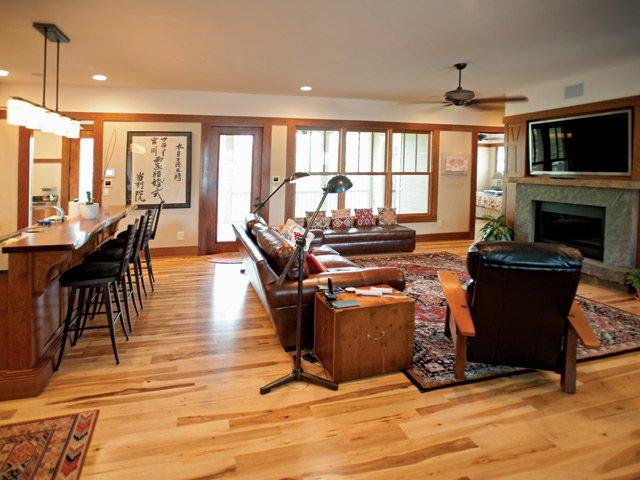 Fry Home Living Room