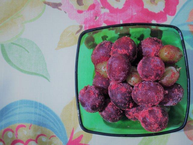 Frozen Grapes.JPG