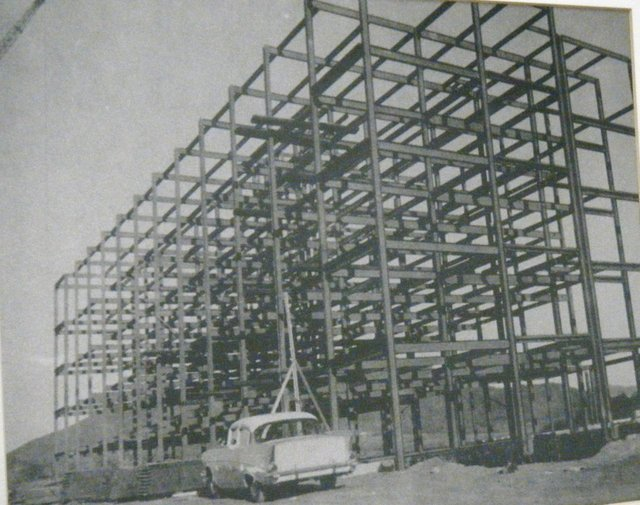 1965. Construction begins on Friendship Manor's first building, Manor East.JPG