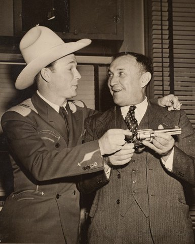 Gus Welch and Roy Rogers