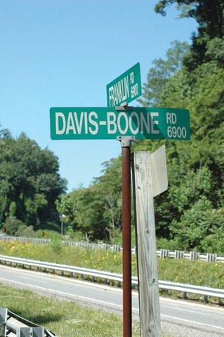 Billboard Goats Road Sign