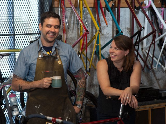 Aaron and Michelle Dykstra - Six-Eleven Bicycle Co.