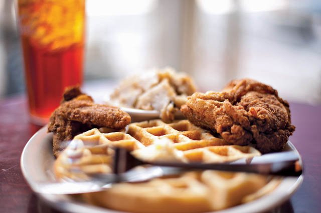 Thelma's Chicken and Waffles for the Roanoker