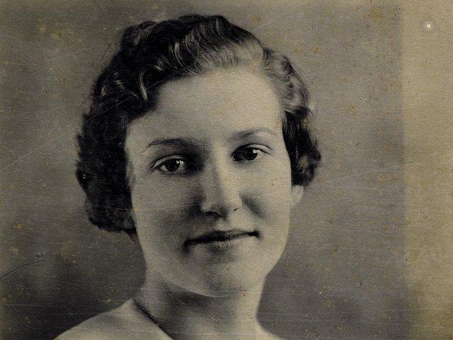 Herma Allen, Frank Beamer's mother