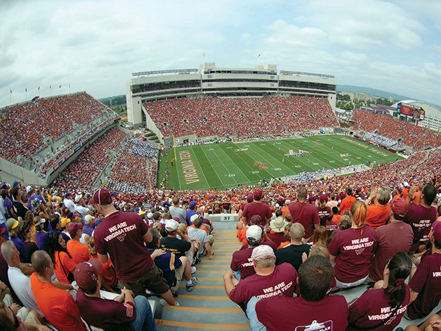 Lane Stadium, Home of the Hokies