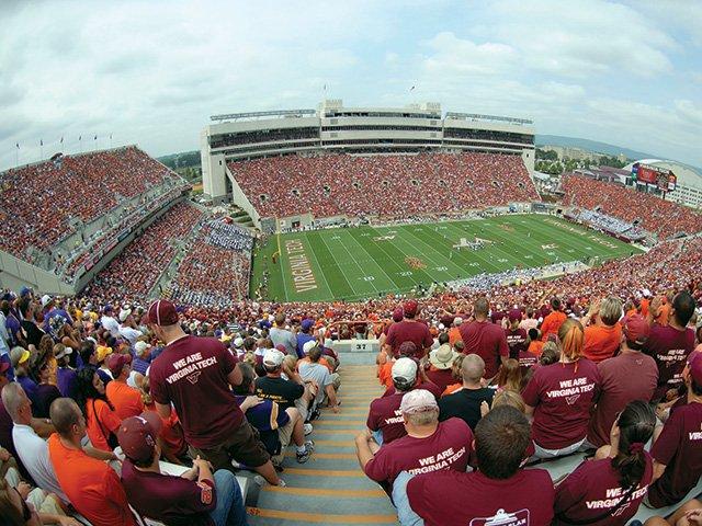 Lane Stadium, Home of the Hokies