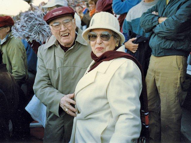 Raymond and Herma Beamer
