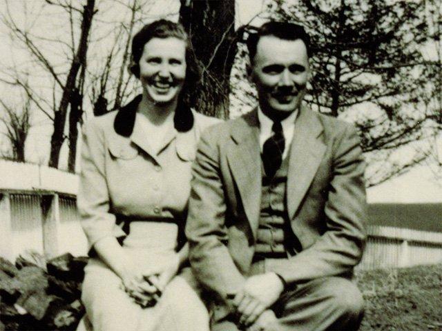 Herma and Raymon Beamer, Frank Beamer's parents