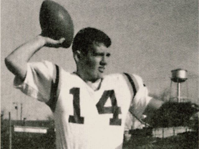 Frank Beamer as a player