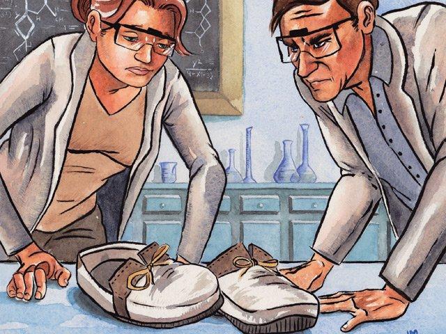 Gossipman White Shoe Demographic